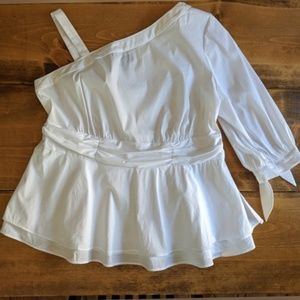 Lane Bryant one shoulder top NWT Size 16
